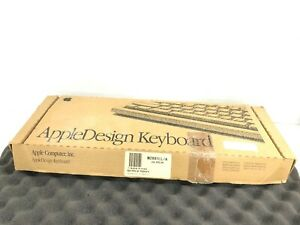 NEW Apple Design Computer Keyboard M2891LL/A Vintage / OPEN BOX