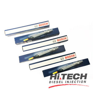 Bosch Glow Plugs (set of 6) - Jeep & Mercedes 0250403008 A0011597101 05175756AA