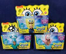 NEW 3 Spongebob Squarepants SPONGEHEADS - Squidward PATRICK Doe-Eyed COSTUME