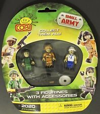 Cobi Small Army Figurines Mini Figures & Accessories 3 Pack building blocks 2020