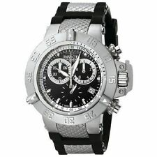 New Mens Invicta 5511 Subaqua Noma Swiss Made Chronograph Black Watch