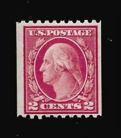 US 1915 SC# 450  2 c Washington Coil - Mint NH - Vivid Color -