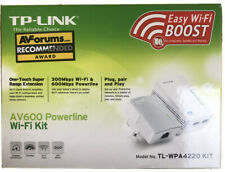 TP-Link AV600 Powerline Wi-Fi Kit TL-WPA4220 KIT - Boxed, hardly used.