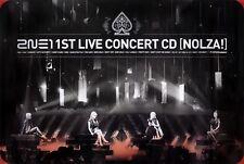 2NE1 - Nolza! (1st Live Concert Album) OFFICIAL POSTER *HARD TUBE CASE* K-POP