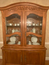 Ethan Allen Country French Legacy China Cabinet