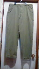 TIMBERLAND - 100% Cotton - Green Carpenter Style PANTS - Size 38 - 38X31