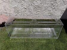 """Used Sea Clear Acrylic Fish Tank 48"""" X 15"""" X 18"""" (60 gallon)"""