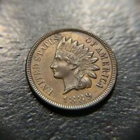 1889 Indian Head Cent Uncirculated UNC Mint State MS 3 Diamonds 1c