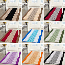 Machine Washable Kitchen Mat Runners Hall Door Non Slip Rug Carpet Small & Large