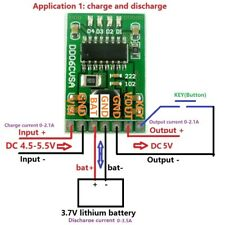 5V/2A Charge/Discharge/Boost/Protection 3.7V 4.2V Battery DC-DC Diy Module