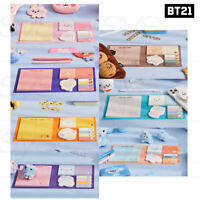 BTS BT21 Official Authentic Goods Memo Pad Baby Ver + Tracking Number