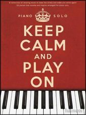Keep Calm and Play On Piano Solo Sheet Music Book