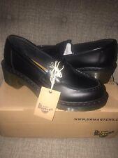 Rare Dr Martens Kizzy Black Heeled Penny Loafer 10US 8UK 42EU