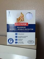 Twin Size allergy & bedbug mattress protector