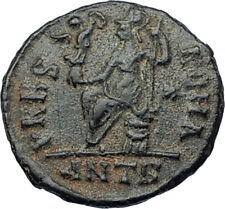 VALENTINIAN II 378AD Antioch Authentic Ancient Roman Coin VRBS ROMA i65674