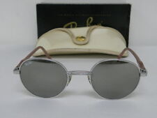 Vintage B&L Ray Ban Round Metal Rituals Incantation Silver Pink W2548 Sunglasses