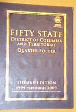 "50 State Quarters  P & D Territorial Quarters 2009 ""Deluxe Folder""Slight Damage"