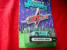 MUSCLE MACHINES T02-41 TOYOTA SUPRA LIGHT BLUE FREE USA SHIPPING