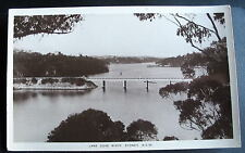 AUSTRALIA NSW LANE COVE RIVER & BRIDGE RPPC 1914