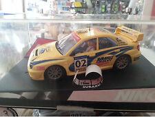 "Ninco 50257 subaru impreza wrc ""Catalunya costa brava 2002"" of. drivers Lted. ed"