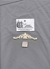 DOOR PEDIMENT / Trim / Header UMT4 -  dollhouse miniatures 1/12 scale polyresin