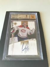 2009-10 UD ULTIMATE COLLECTION SIGNATURES #US-CP CAREY PRICE BGS 9 - 10 AUTO