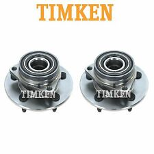 For Ford F-150 4WD Pair Set of 2 Front Wheel Bearings & Hub Assemblies Timken
