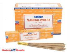 Satya Patchouli Nag Champa Insence Stick Dhoop Joss Incense 15g Variation UK 3 Boxes - 36 Sticks