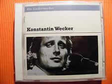 CD Die Liedermacher / Konstantin Wecker (2012) - OVP