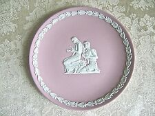 WEDGWOOD PINK JASPERWARE AUTUMN PLATE - MINT CONDITION!