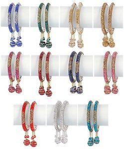 Indian Bollywood Bangles Wedding Jewelry Designer Multi Color Beautiful Bangle