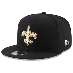 New Orleans Saints New Era NFL Team 9FIFTY Snapback Hat - Black