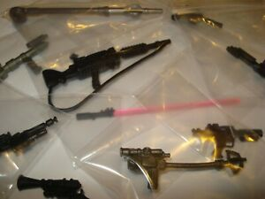 Star Wars 100% original POTF 2 Weapons figures Accessories Blaster Rifle Kenner