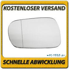 Spiegelglas für SUZUKI IGNIS II 2003-2008 links Fahrerseite asphärisch