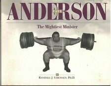 PAUL ANDERSON The Mightiest Minister Strongman Weightlifting Softcover Book