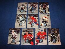 1996-97 DONRUSS RATED ROOKIES COMPLETE SET OF 10 CARDS HOCKEY CLEARANCE SALE
