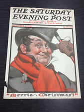 Original Saturday Evening Post cubierta por Norman Rockwell: 3rd 1921 de diciembre