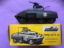 Solido 200 Diecast M20 Combat car (Boxed)