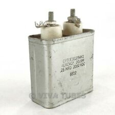 Vintage Aerovox 2009M Oil-Filled Capacitor 0.25 mfd 2000 VDC