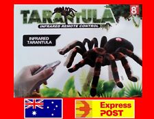 NEW Remote Control Spider Tarantula Real Looking Toy RC Infrared + Light Ages 8+