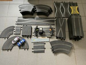 Hornby Scalextric Job Lot Of SCX Classic Track With 2 Cars, Slot Cars
