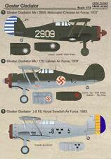 Imprimé échelle 1/72 Gloster Gladiator Part 2 # 72063
