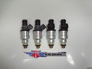 TRE 1100cc Flowmatched Fuel Injectors Fit Bosch E30 Turbo DOHC 420a 100lb/hr 4