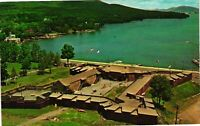 Vintage Postcard - Historic Fort Milliam Henry Lake George NEW YORK NY #3852