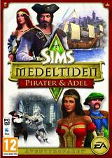23 x PC/ MAC GAME * THE SIMS MEDIEVAL PIRATES & NOBLES * Pirater Adel NEW SEALED