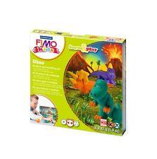 Fimo kits for kids form & play polymère modelage four cuisson argile-set dino