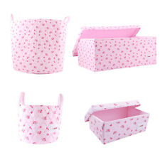Minene Beautiful Floral Rose Storage for nurseries! - Perfect storage solution