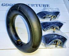 More details for 4x inner tube size: 3.00-8 inner tube, 3.00/3.25-8 tube new, bent valve;