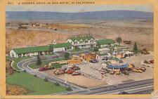 El Segundo CA * Patmars Motel and Drive In  1940s