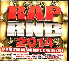 RAP RNB 2014 - 4 CD COMPILATION NEUF ET SOUS CELLO
